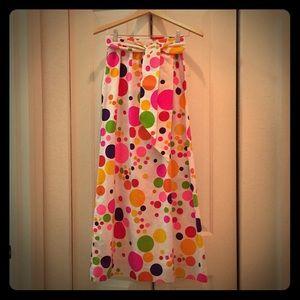 Dresses & Skirts - Vintage Polka Dot Skirt